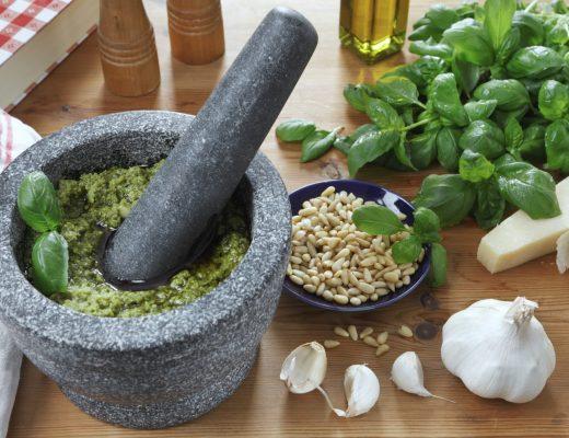 Pesto genovese: poche, semplici ma rigide regole