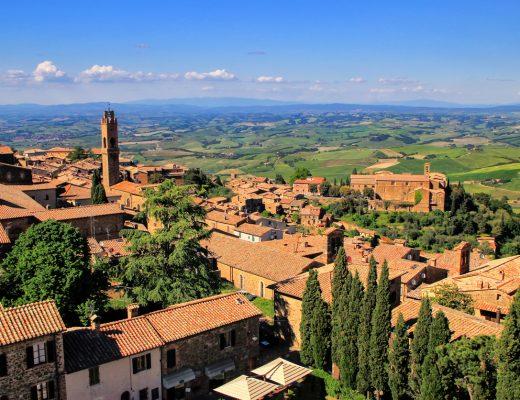 Montalcino, il borgo che è meta del turismo del vino